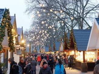 Jarmark Bozonarodzeniowy w Gdansku Christmas Market