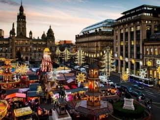 Glasgow Christmas Market Scotland