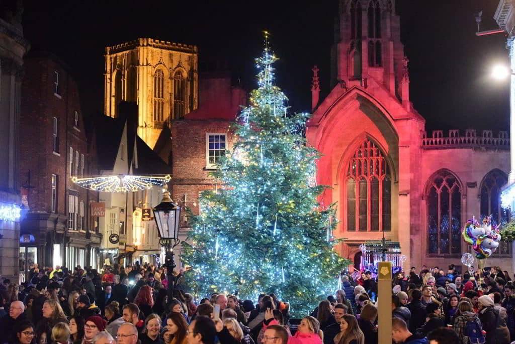 York Christmas Market Yorkshire and the Humber UK