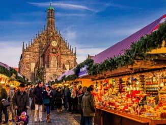 Nuremberg Christmas Market Bavaria