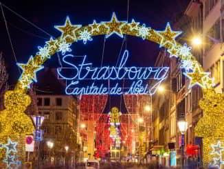 Strasbourg Christmas Market Christkindelsmärik France