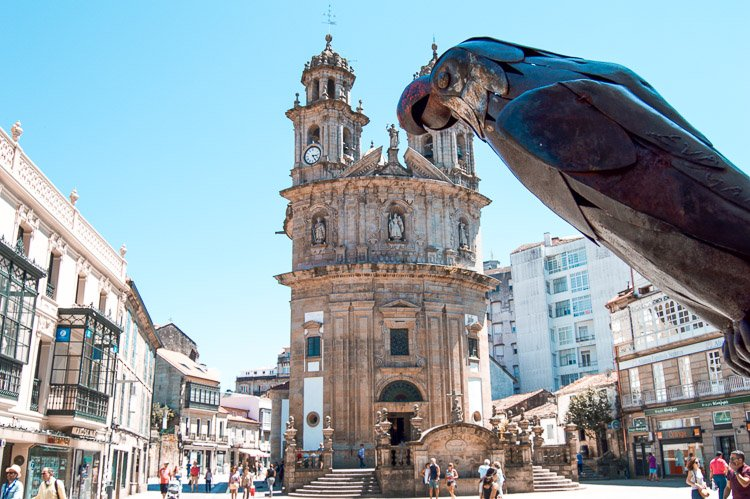 Things to see in Pontevedra Spain
